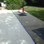 Stamped Patio Addition and Overlay to match