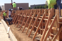 Pouring walls